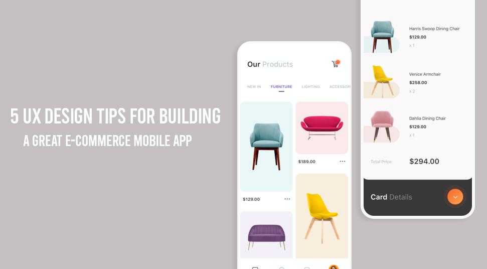 5 Kiat Desain UX Untuk Membangun Aplikasi Seluler e-niaga